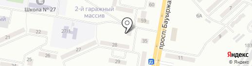 Темиргаз, ТОО на карте Темиртау