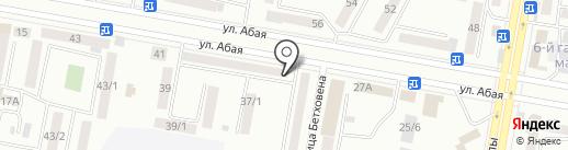 Багдат на карте Темиртау