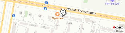 SKY на карте Темиртау