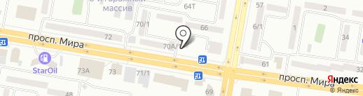 Этюд на карте Темиртау