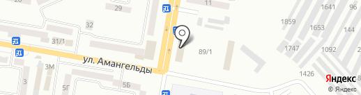 Юридическая консультация г. Темиртау на карте Темиртау
