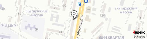 Мария на карте Темиртау
