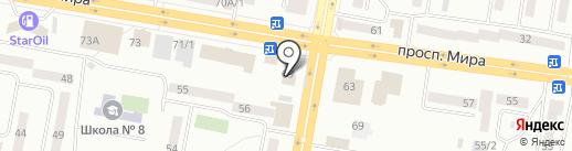 Банкомат, Банк Центркредит на карте Темиртау