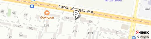 Gamma Service на карте Темиртау