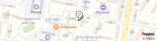 Сеним на карте Темиртау