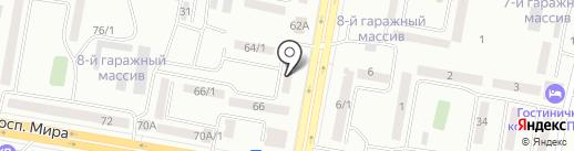 Ассорти на карте Темиртау