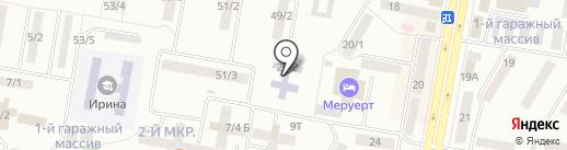 Детский сад №4 на карте Темиртау