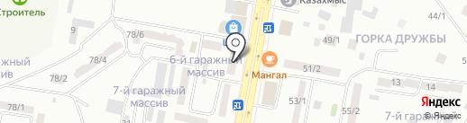 Эльшат на карте Темиртау
