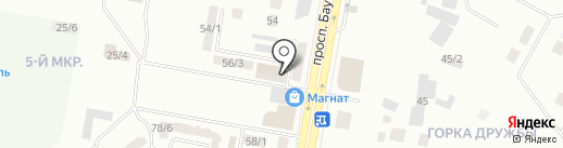 Овощной отдел на карте Темиртау