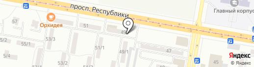 Бахус на карте Темиртау