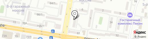 Ogma на карте Темиртау