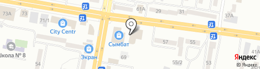 Летний дворик на карте Темиртау