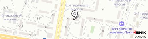 Крипт на карте Темиртау