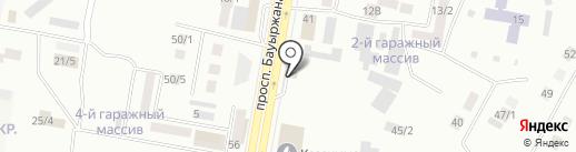 АЗС Гелиос на карте Темиртау