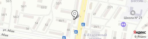 Нина на карте Темиртау