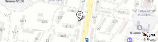 Дока-плюс на карте Темиртау