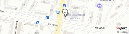 Стрекоза на карте Темиртау