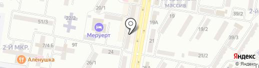Ивушка на карте Темиртау