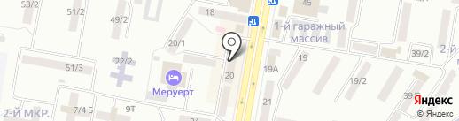 Идеал пласт на карте Темиртау