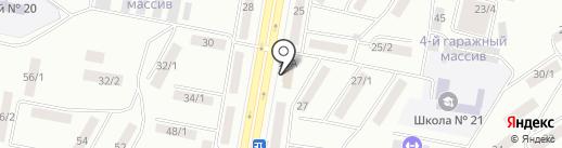 Мадрид на карте Темиртау