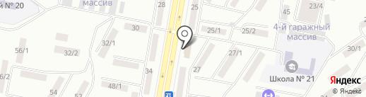 ЮрКонсульт на карте Темиртау