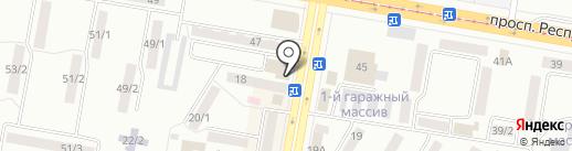Микрокредит, ТОО на карте Темиртау