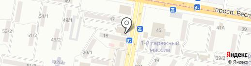 Ботян на карте Темиртау
