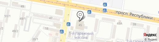 SILVER ICE на карте Темиртау