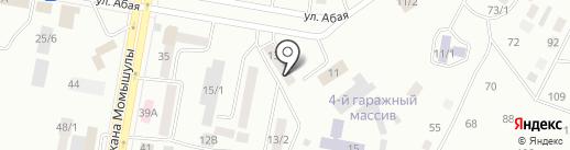АДА на карте Темиртау