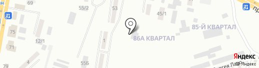 Алма-Арасан на карте Темиртау