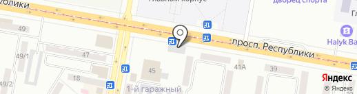 КазанОк на карте Темиртау