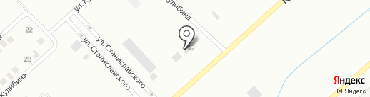 Трактир у дороги на карте Темиртау