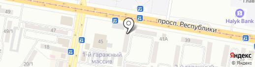 Комиссионный магазин на карте Темиртау