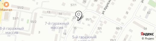 СТО на карте Темиртау