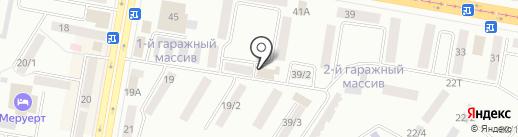 Инкар на карте Темиртау