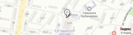 Транзит на карте Темиртау