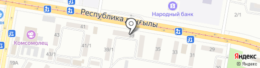 Кентавр на карте Темиртау