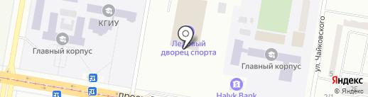 Ледовый дворец спорта на карте Темиртау