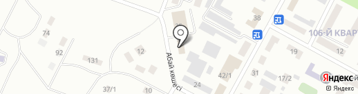 Модус-Темиртау на карте Темиртау