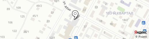 PeGAS на карте Темиртау