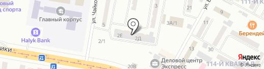 Экспресс на карте Темиртау