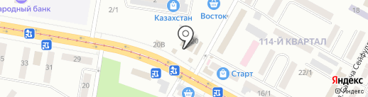 Corporate Business Systems, ТОО на карте Темиртау