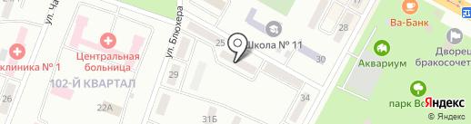 Управление по чрезвычайным ситуациям г. Темиртау на карте Темиртау
