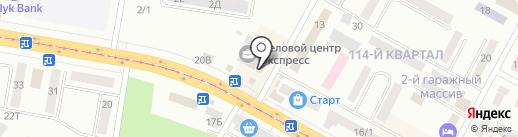 Русь на карте Темиртау
