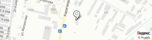 КарСтрой Company на карте Темиртау