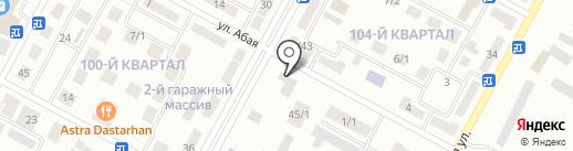 Восток на карте Темиртау