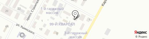 Батальон полиции на карте Темиртау