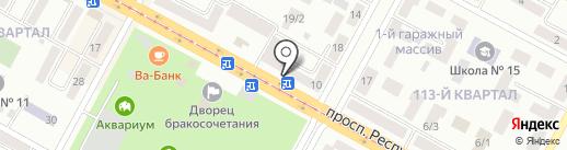 Life на карте Темиртау