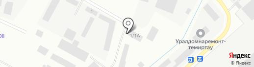 Саэм-Центр, ТОО на карте Темиртау