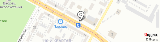 Беневент на карте Темиртау